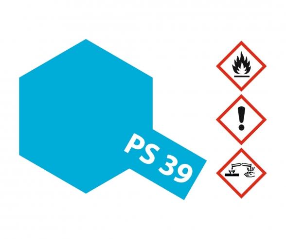 PS-39 Translucent Hellblau Polyc. 100ml