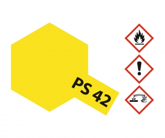 PS-42 Translucent Yellow Polyc. 100ml