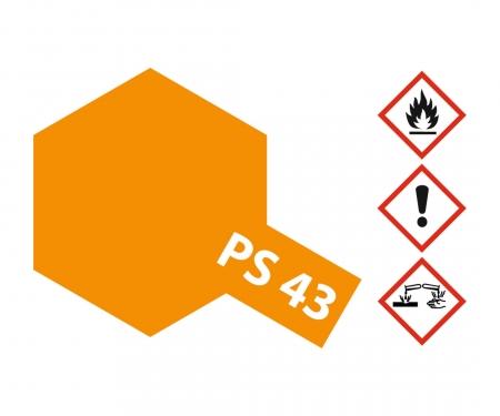 PS-43 Translucent Orange Polyc. 100ml
