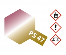 PS-47 Iridescent Pink-Gold Polyc. 100ml