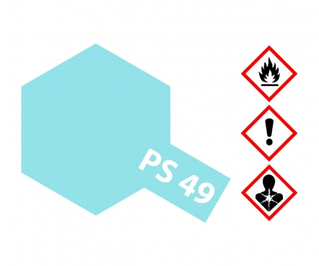 PS-49 Alu-Effekt Blue Polyc. 100ml