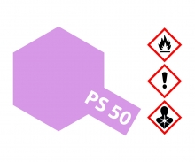 PS-50 Alu-Effect Red Polyc. 100ml