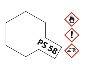 PS-58 Pearl Clear Polycarbonate 100ml