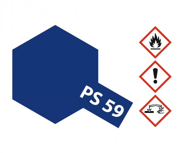PS-59 Dkl. Metallic Blau Polycarb. 100ml