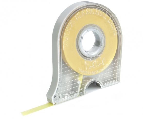 Masking Tape  6mm/18m m.Abroller Tamiya