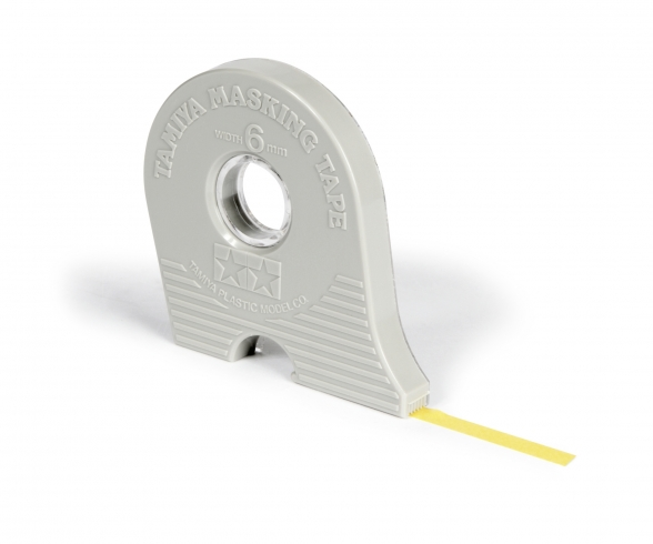 Masking Tape 10mm/18m m.Abroller Tamiya