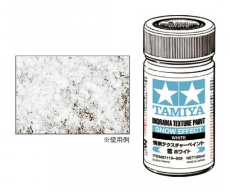 Diorama Text.Paint Snow/White 100ml