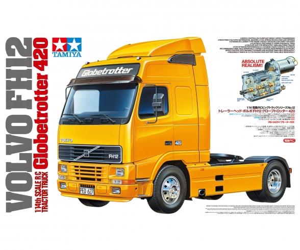 1:14 RC VOLVO FH12 Globetrotter 420 Kit