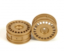 1:10 Disc-Wheels Rally (2) gold 26mm