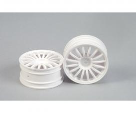 1:10 16-Sp. Wheel (2) white 26mm