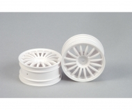1:10 16-Sp. Wheel (2) white 26mm
