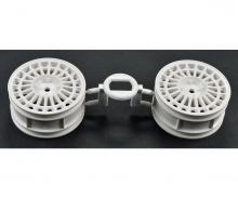 1:10 Spoke Wheel white 26mm (2)