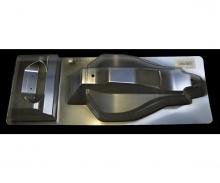 DT-02 Karosserie/Spoiler Sand Viper