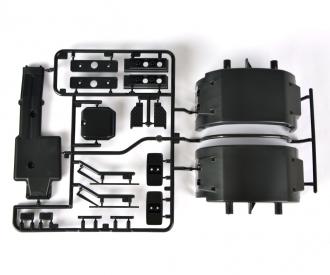 R-Teile Auspuff/Kotflügel MB 1838 56305