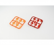 S-Teile Gläser rot & orange 56319