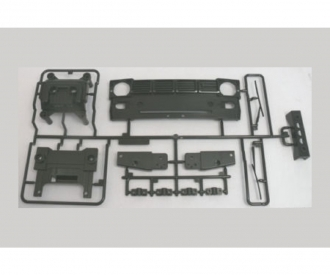 W-Parts radiator grille for 58397