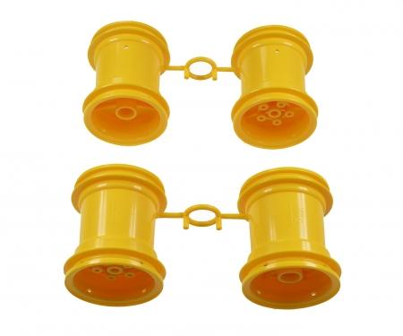 Lunch Box Wheel-Set yellow (2+2)