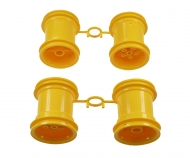 Lunch Box Wheel-Set yellow (2+2)