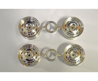 Wheels (4 pcs.) for 58383