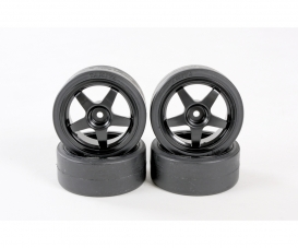 1:10 Tire(w/Wheel) (4 pcs.)for 58386