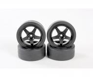 1:10 Drifträder (4) schwarz 26mm