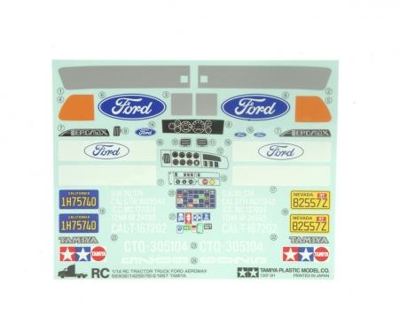 Aufkleber Ford Aeromax 56309