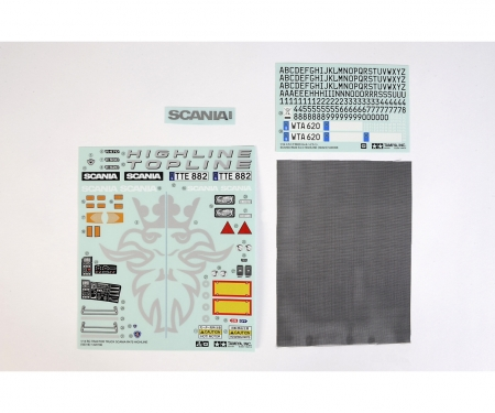 Sticker Bag Scania R620 6x4 Highline