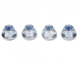 4 mm Flange Lock Nut(4 pcs.)