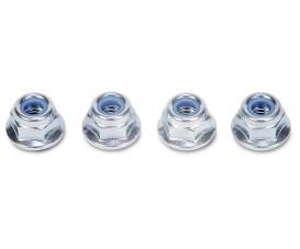 4 mm Flange Lock Nut(4 pcs.)