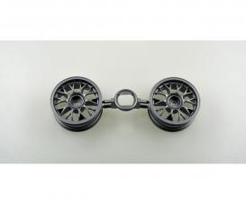 1:10 Y-Speichen-Felg. grau 26mm (2) +3mm