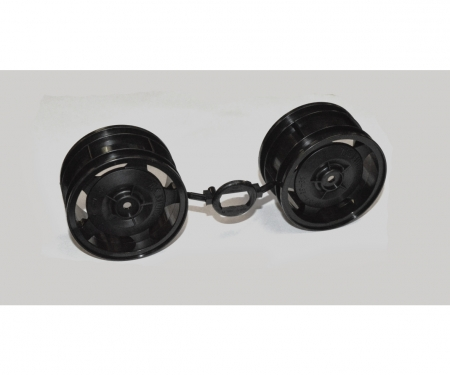 Rear Wheels (2) Blk 58628