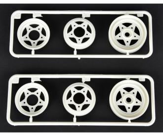 F-Parts 3pcs. Wheels front (2) 58441/452