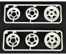 F-Parts 3pcs. Wheels front (2) 58441/452