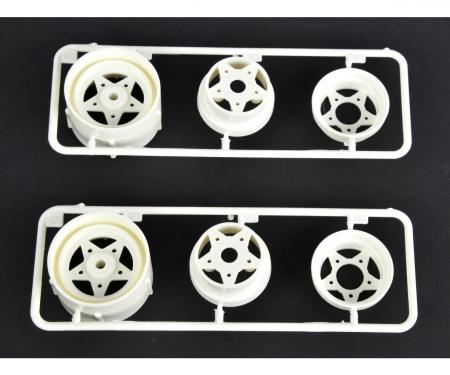 R-Parts 3pcs. Wheels rear (2) 58441/452
