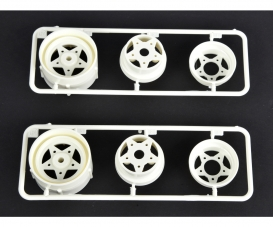 R-Parts 3pcs. Wheels rear (2) 58441/452