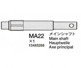 TD4 Main Shaft Spur gear (black) 58696