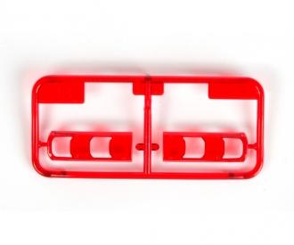 BB-Teile Gläser rot klar MB Actros 56335
