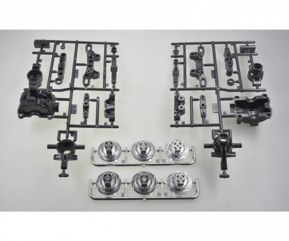 TT-02/D A-Parts Front Uprights (2)