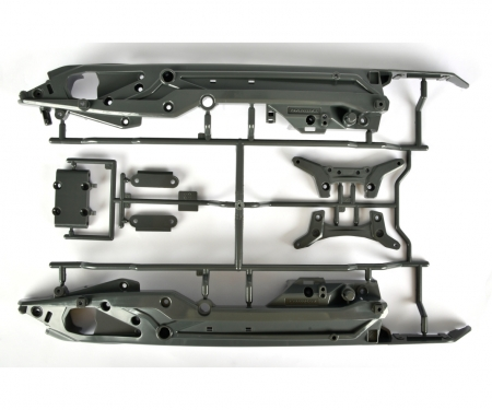 DT03 C Parts Chassis/Damper stays