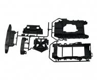 CC-02 E-Teile Chassis/Akkuhalter