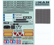 Sticker-Beutel MAN TGX 18.540 56329