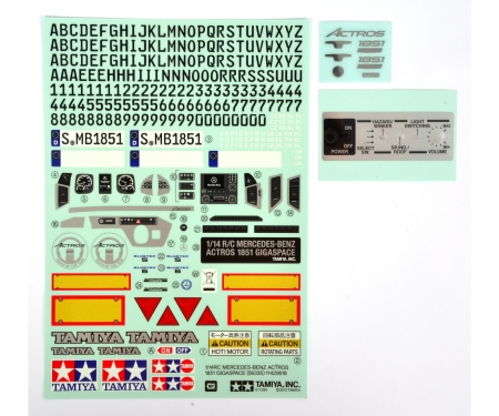 Sticker, Metal Transfer MB Actros 56335