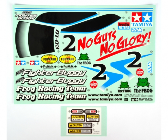 DT03 Sticker Neo Fighter Buggy