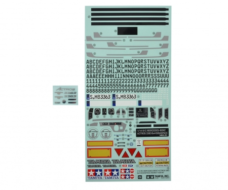 Sticker Set MB Actros 3363 / 56348