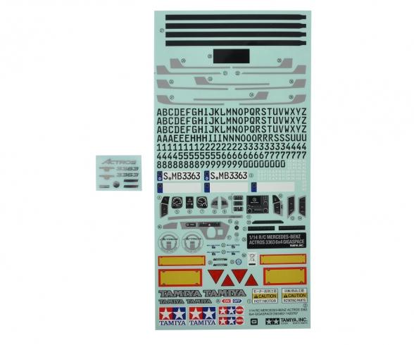 Sticker Set MB Actros 3363 / 56348
