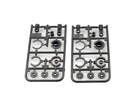 X Parts (Silver) (x2) : 58675 CC-02