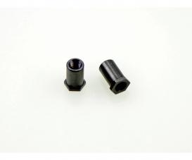 TD4 Steering Arm Post (2) (black) 58696