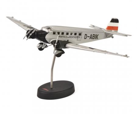 """Junkers Ju52/3m """"Manfred von Richthofen"""", silver, 1:72"""