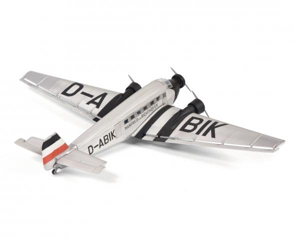 """Junkers Ju52/3m """"Manfred von Richthofen"""", silber, 1:72"""