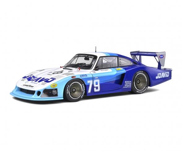 1:18 Porsche 935 MobyDick #79 blau